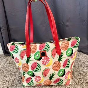 Dooney & Bourke Fruit Print Tote - SUPER CUTE!